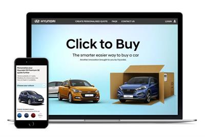 Hyundai launches UK's first entirely online car-buying platform