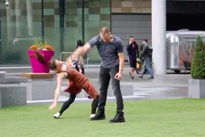 Watch: how an intense dance is raising awareness of domestic violence