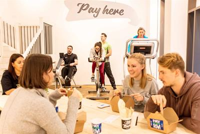 Watch: The new London café where you pay by exercising