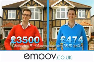 Online estate agency eMoov launches first TV ad