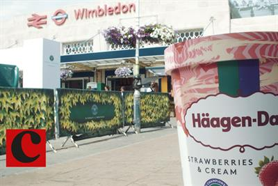 Watch how Häagen-Dazs served its return to Wimbledon