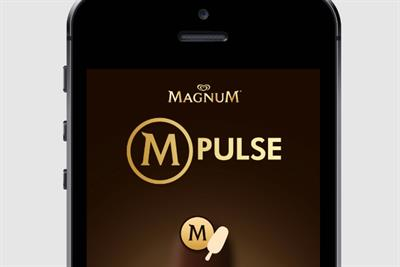 Magnum beacon tech allows Londoners to 'get together' for ice cream