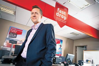 Pete Markey on joining the Post Office, Gok Wan and swimming with sharks