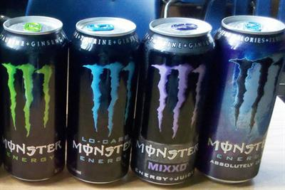 Coke eyes energy drink sector growth with Monster stake