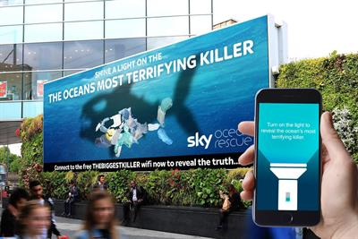 WCRS and Leo Burnett top Ocean Outdoor digital creative competition