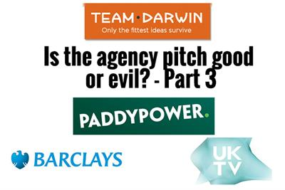 Watch: Is the agency pitch good or evil? - Part 3