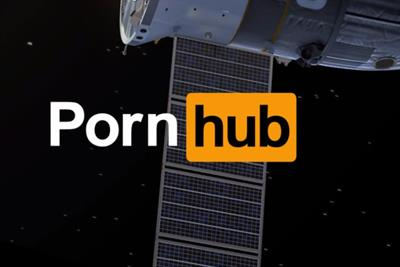 Pornhub launches 'sexploration' stunt to shoot porn in space