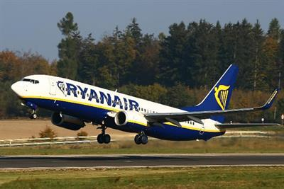 Ryanair hits record passenger numbers after brand overhaul