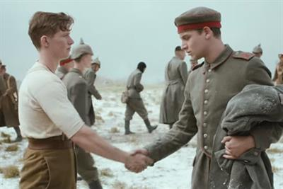 Watch: Sainsbury's celebrates Christmas Day truce in First World War-themed TV ad