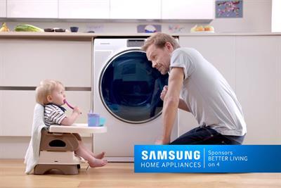 Samsung Home Appliances sponsors Channel 4 in seven-figure deal