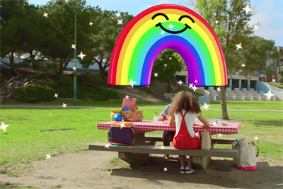 Snapchat opens up its AR lenses to advertisers