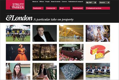 Estate agent Strutt & Parker calls UK creative review