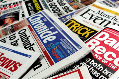 Trinity Mirror print ad revenue down 27%