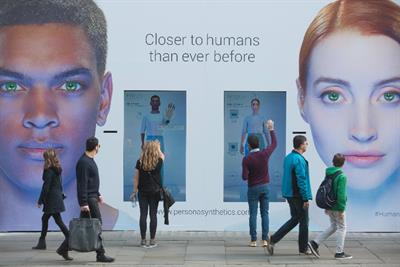 Channel 4 behind 'synthetic human' robot stunt