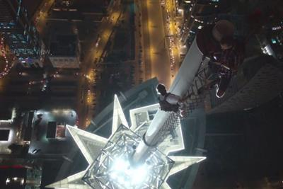 Canon films 'crazy' Russian photographers scaling world's tallest hotel