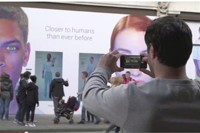WATCH: 'synthetic human' robots come to life in London