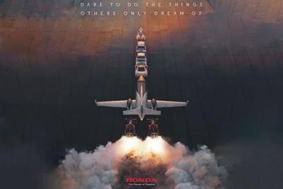 Honda creates rocket convoy in campaign featuring Jenson Button and Ayrton Senna