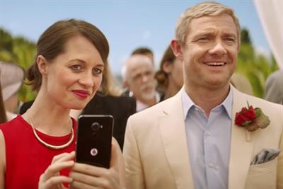 Behind the scenes of Vodafone's Martin Freeman ad