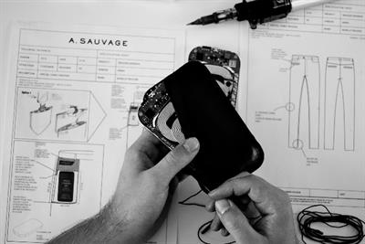 Microsoft sews a phone charger into pocket to create wireless designer trousers