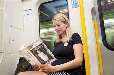 Notonthehighstreet.com sponsors London Underground 'baby on board' badge