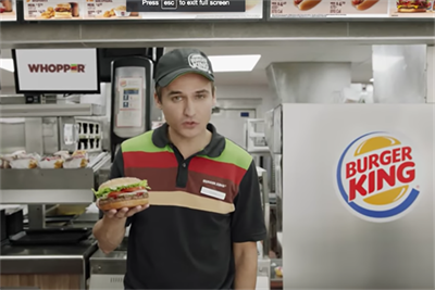 What the Burger King internet-of-things ad portends