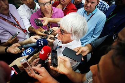 F1 boss Bernie Ecclestone on his  billion-dollar brand