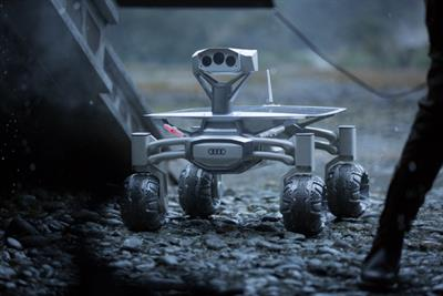 Audi built a moon rover for 'Alien: Covenant' that is actually going to the moon