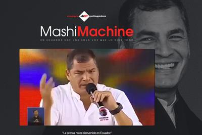 Leo Burnett brings free speech to Ecuadorians with site that repurposes president's words