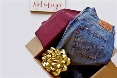 How Levi's is helping fashionistas recycle during the holiday shopping blitz