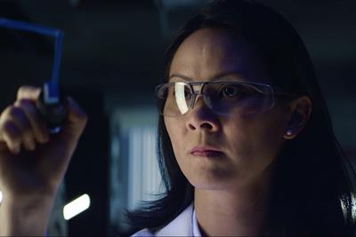 Pfizer ad celebrates the sweat and science behind the little blue pills