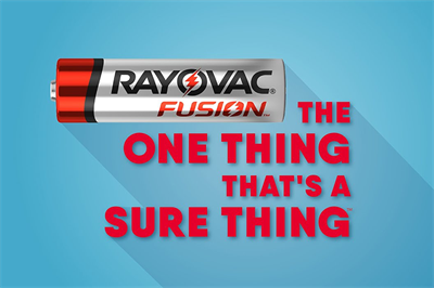 Emerging from bankruptcy, Rayovac advertises for the first time in a decade