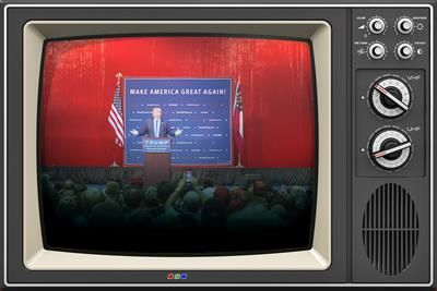 With new TV ad, Donald Trump joins the 2016 ad spending frenzy