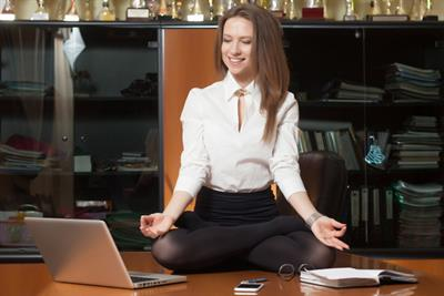 Overtime pay? Try yoga instead