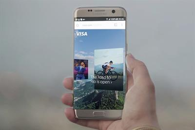 Visa's 360-degree mobile experience tells diverse stories of Olympic athletes
