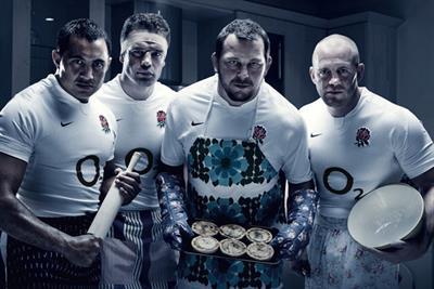 O2 'get up for England' by VCCP
