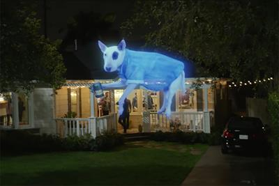 Spuds MacKenzie returns to the Super Bowl as restless ghost