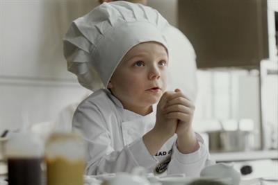 Harvester 'junior chef' by JWT London