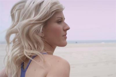 Nike 'music runs Ellie' by AKQA