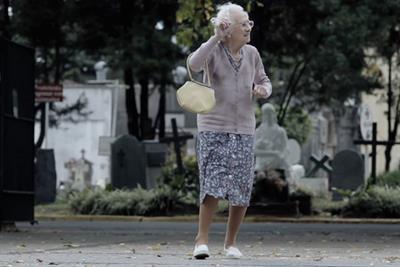 Zonajobs 'grandma' by DraftFCB Argentina