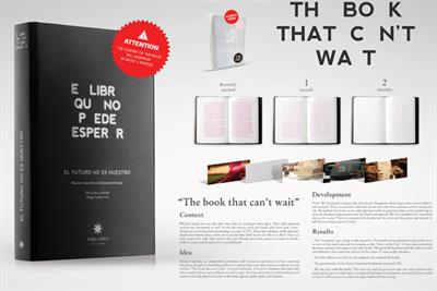 Eterna Cadencia 'The Book That Can't Wait' by DraftFCB Buenos Aires