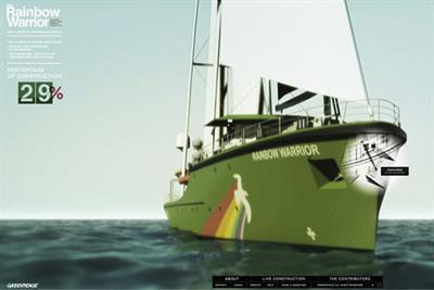 Greenpeace International 'Rainbow Warrior' by DDB Paris