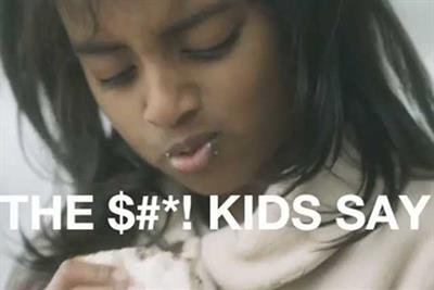 NSPCC 'the $#*! that kids say' by Inferno
