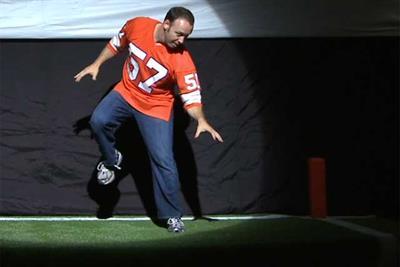 ESPN 'evolution of touchdown dance' by Wieden & Kennedy New York