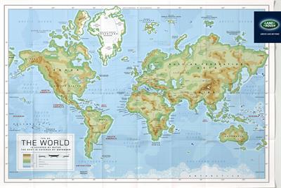 """Land Rover """"map"""" by RKCR/Y&R"""