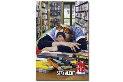 Pro Plus 'stay alert' by JWT London