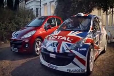 Peugeot 'Meeke not mild' by Euro RSCG