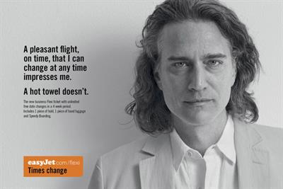 EasyJet 'times change' by Publicis