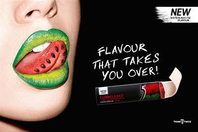 "5 Gum ""taste intense"" by Billington Cartmell"