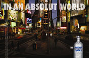 Absolut Vodka 'in a perfect world' by TBWA\Chiat\Day New York
