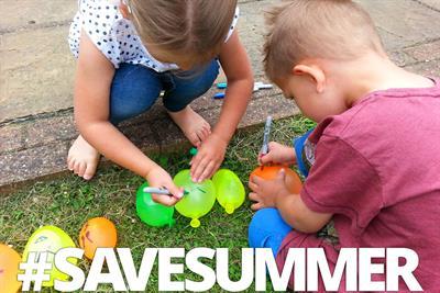 """Asda """"#SaveSummer"""" by Work Club"""